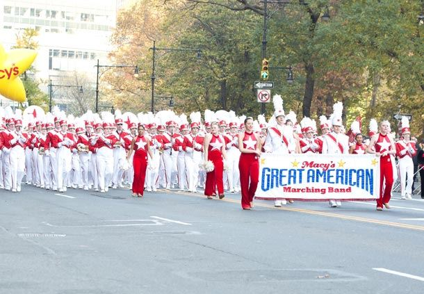 Thanksgiving Parade Marching Band