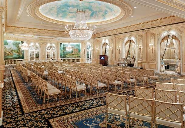 Grand Salon - Theater Setup