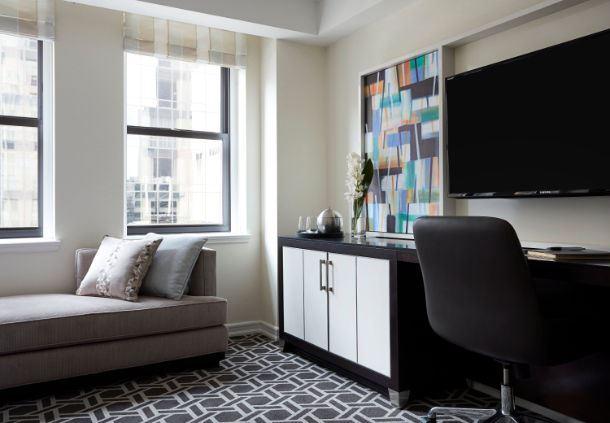 Essex King Guest Room - Work Desk