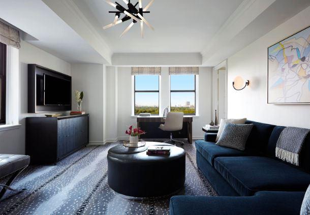 Central Park Suite - Living Area