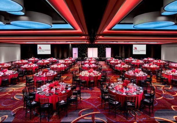 Westside Ballroom - Banquet Setup