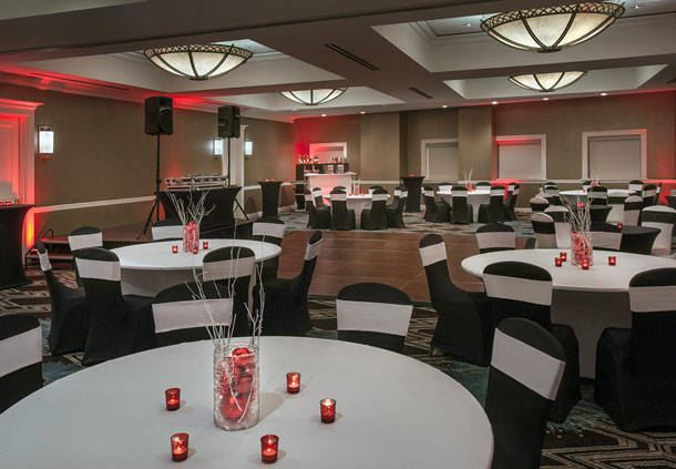 Financial Ballroom - Banquet Setup