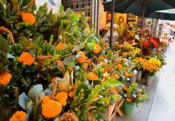 Ferry Building Flower Vendor