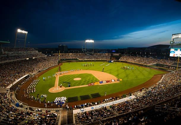 College World Series at TD Ameritrade