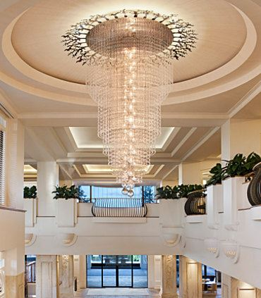 Grand Chandelier & Staircase