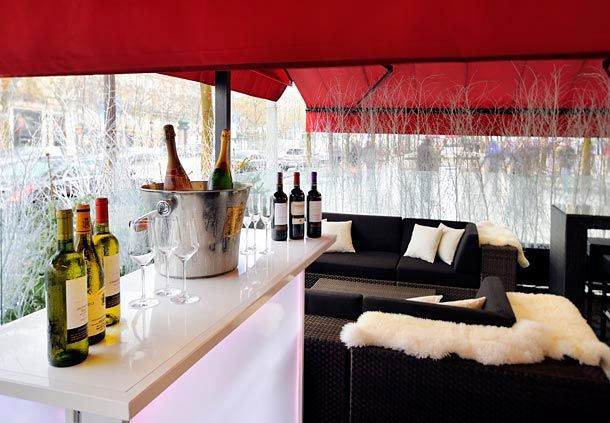 Champs Elysees - Outdoor Terrace