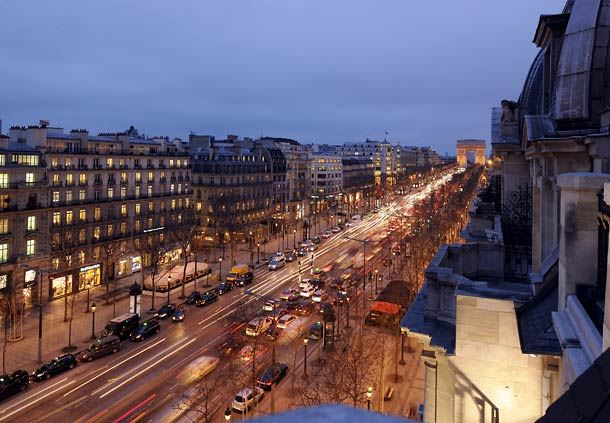 Champs-Elysees View