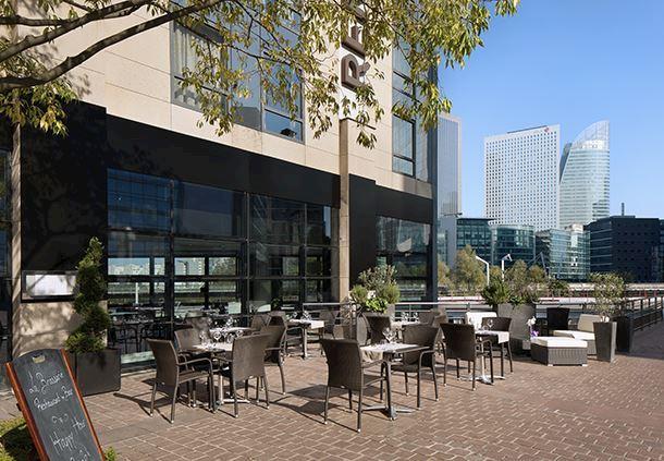 Terrasse du restaurant-bar La Brasserie