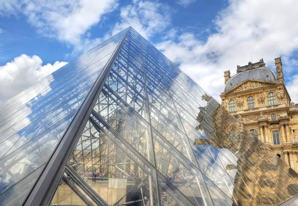 Glass Pyramid - Louvre Museum