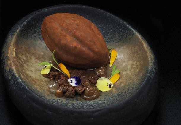 Le Relais Du Parc- Chocolate Sphere Dessert