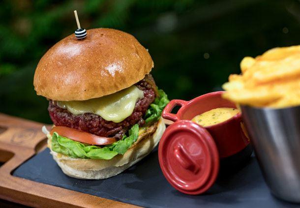 Le Barisien Burger