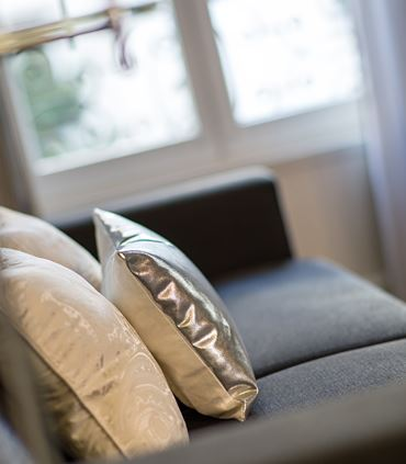 One Bedroom Executive Suite - Sofa Details