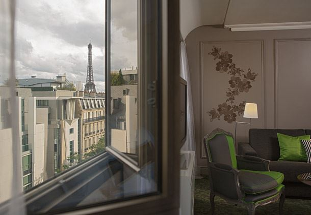 Eiffel Tower Junior Suite - View