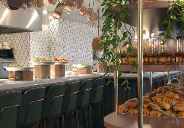 Balagan - Breakfast Buffet - Croissants