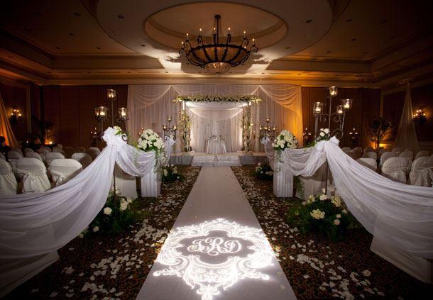 Ballroom Ceremony Setup