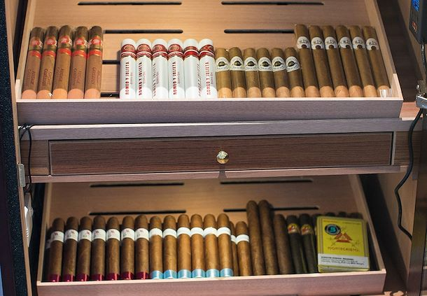 Wide array of Cigar selections