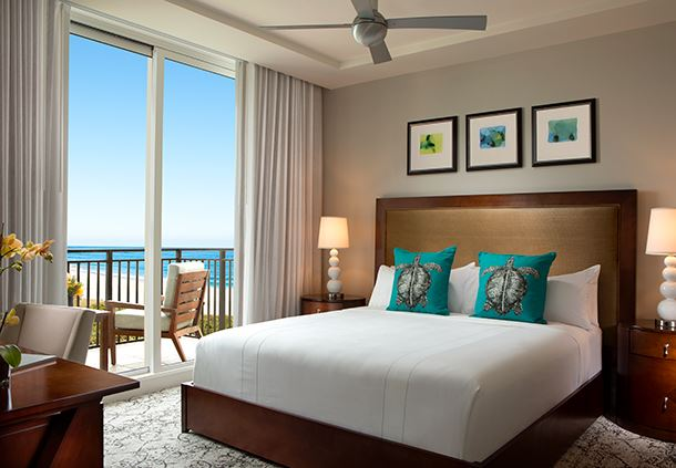 King Bedroom - Ocean View