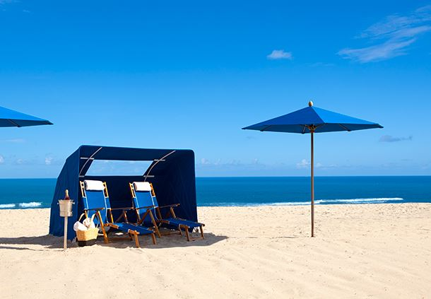 Private Beach Cabanas