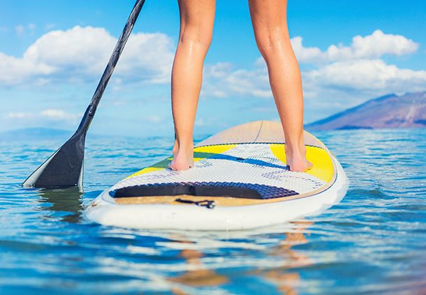 Resort Activities - Paddle Boarding