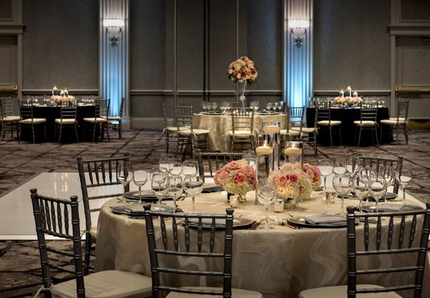 Grand Ballroom - Bridal Setup