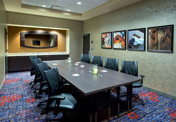 USS Blue Ridge Boardroom