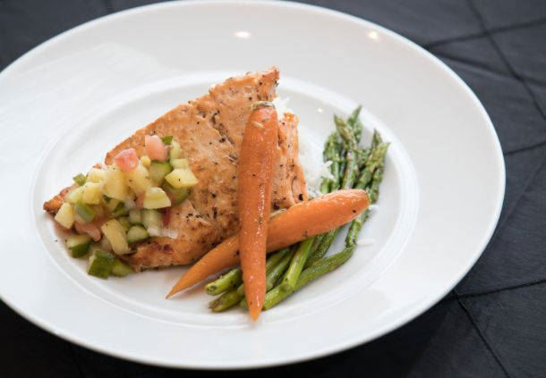 Signature Dishes - Pan Seared Salmon