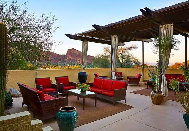 The Spa at Camelback - Women's Outdoor Lounge