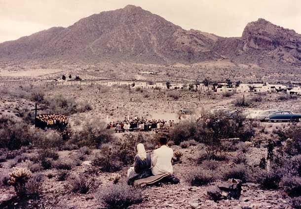 Desert Easter Service