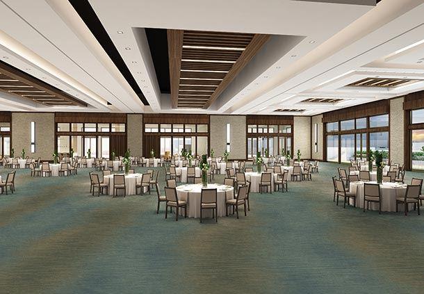 Paradise Ballroom - Meeting Setup