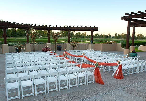 Lakeview Inn Outdoor Ceremony