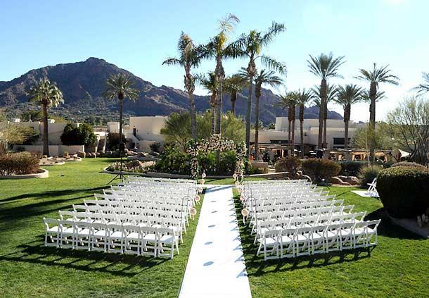 North Garden Ceremony