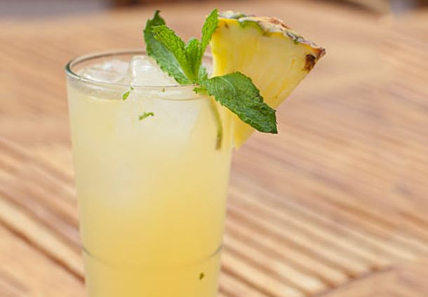 Orange Pineapple Mojito