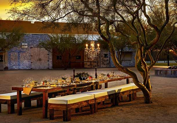 Desert Kivas Outdoor Meeting Space