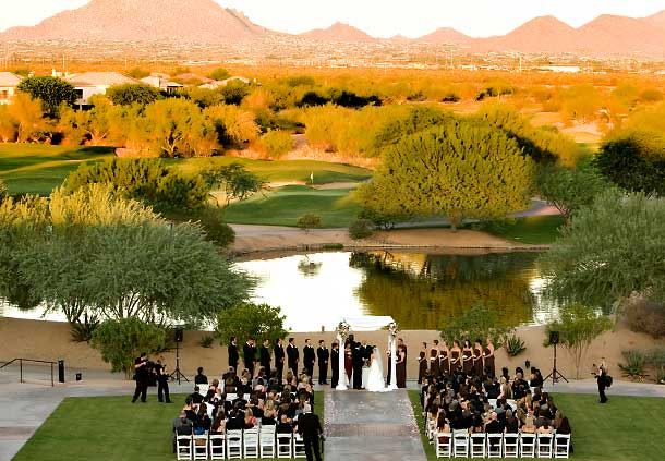 Ballroom Lawn Wedding Ceremony