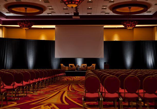Ballroom Theater Setup