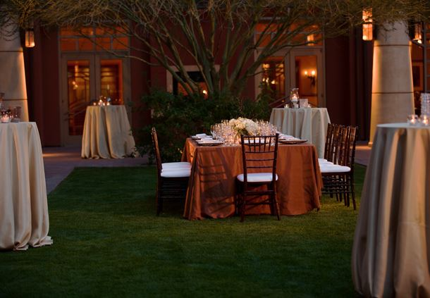Outdoor Courtyard - Social Event