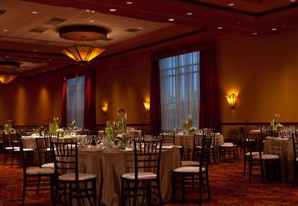 Ballroom Event Setup