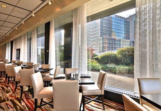 Restaurant City View