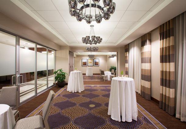 Solstice Room - Reception Setup