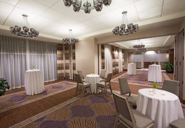 Equinox Room - Reception Setup
