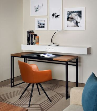 Deluxe Suite - Work Area