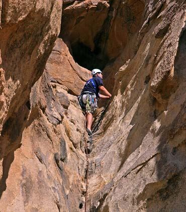 Rock Climbing at Joshua Tree National Park
