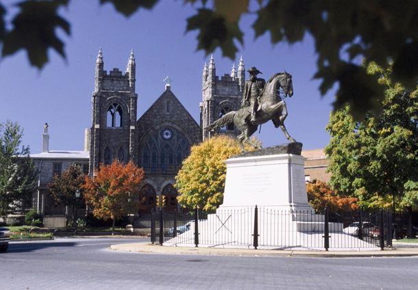 JEB Stuart Monument