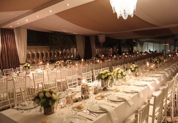 La Terrazza - Wedding Setup