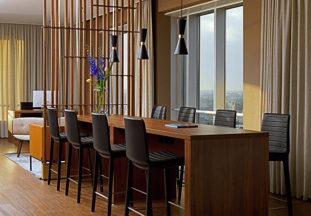 M Club Lounge Rotterdam Marriott Hotel
