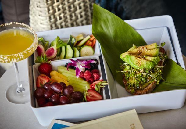 Spa Café Bento Box - Tarragon Chicken Salad Sandwich