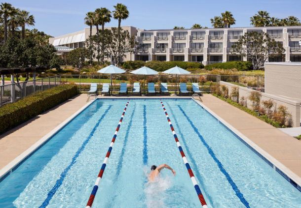 Wellness Center - Outdoor Lap Pool