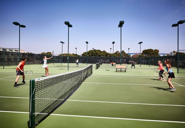 Wellness Center - Tennis Courts