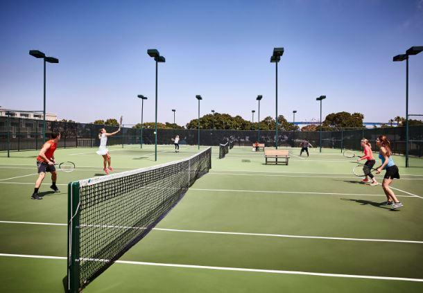 Wellness Center - Tennis Courts