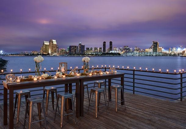 Resort Pier Event